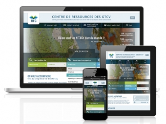 Responsive website NRC